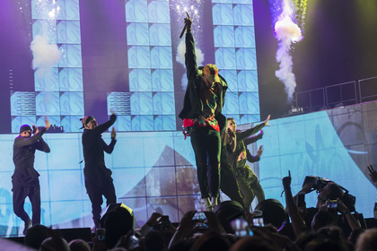 Publikumsmagnet - Fotos: Chris Brown live in der Festhalle in Frankfurt