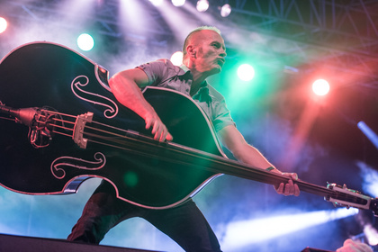 Pop goes Rock'n'Roll - Fotos: Boppin B live auf dem Schlossgrabenfest 2016 in Darmstadt
